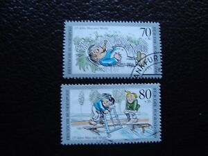 Germany-Rfa-Stamp-Yvert-and-Tellier-N-1288-1289-Obl-A3-Stamp-Germany
