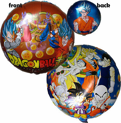 2pces Dragon Ball Z Super Son Goku Balloon Anime Party Supplies Decoration Toy Ebay