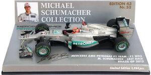 Minichamps-Mercedes-F1-W03-034-derniere-course-034-Bresil-GP-2012-MICHAEL-SCHUMACHER-1-43
