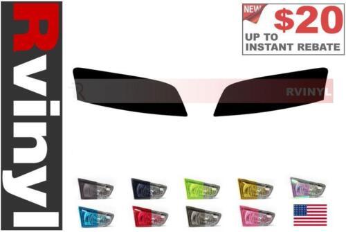 Rtint Headlight Tint Precut Smoked Film Covers for Audi A8 2006-2010