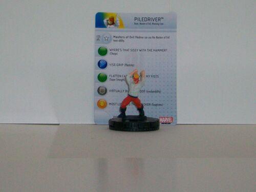 Heroclix Invincible Iron Man # 027 Piledriver