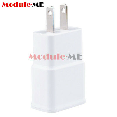 5v 2a Us Plug 1 Port Usb Wall Charger Power Adapter Travel For Samsung White Ebay