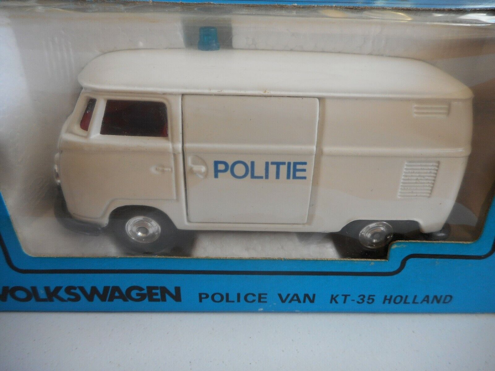 Kado VW VW VW Volkswagen transporter T1 Politie in blanco on 1 43 in Box 900d4b