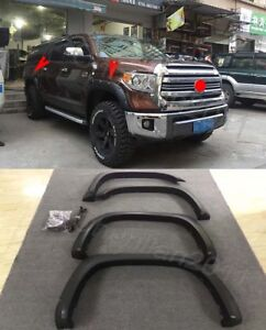 Fender-Flare-Kit-Wheel-Arch-Cover-Trim-For-2014-2018-TOYOTA-Tundra