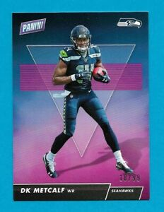 DK METCALF 2019 Panini Day Football ROOKIE RC #'d 18/99  Seattle Seahawks RPS16