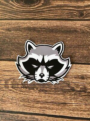 Rocket Raccoon Decal Sticker Color Jdm Euro Stance Illest Vw Honda Marvel