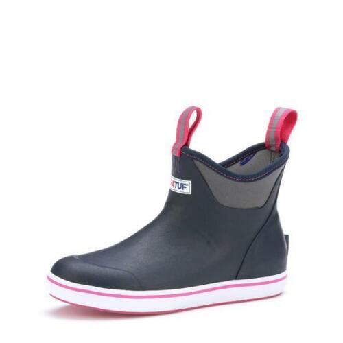 Navy//Pink Xtratuf Women/'s 6 IN Ankle Deck Boot