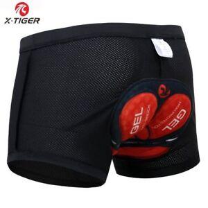 Mens 5D Padded Underwear Cycling Shorts Bicycle Road Mountain Brief Biking Pants