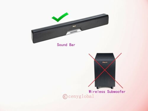 AC Power Adapter for Klipsch RSB-6 /& RSB-8 Reference SoundBar Wireless Subwoofer