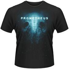 Mens/Boys Prometheus alien skull black T-shirt New small