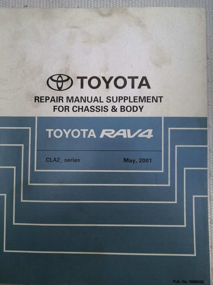 (42)Reparationsbog, Toyota rav4