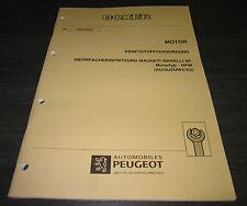 Werkstatthandbuch Peugeot Boxer Motor Magnetti Marelli 8P RFW Einspritzung 1994