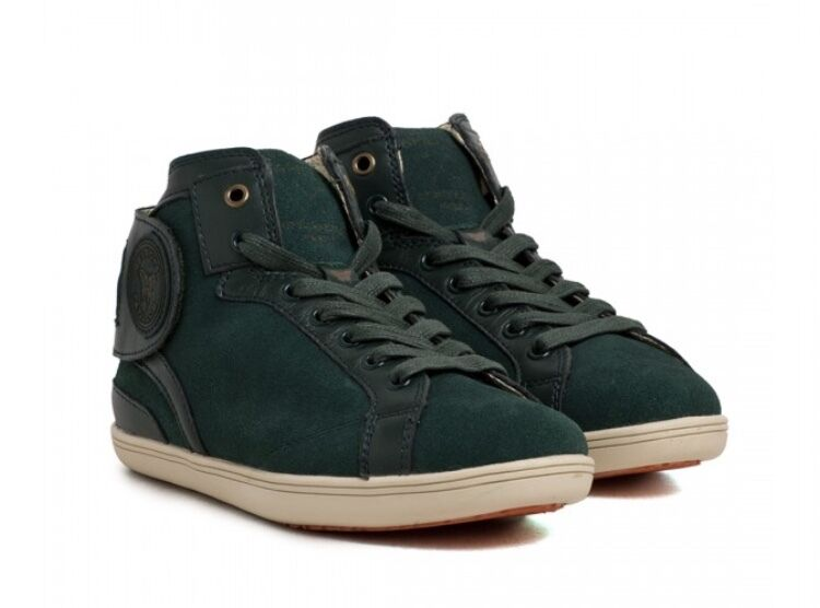 BARONS PAPILLOM Sneakers Wildleder grün Suede Leather green Gr. 41-44 NEU BOX!