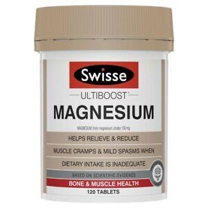 Swisse Ultiboost Magnesium Tablets 120 pack