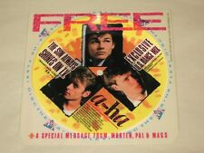 A-HA - THE SUN ALWAYS SHINES ON TV - RARE FLEXI 45