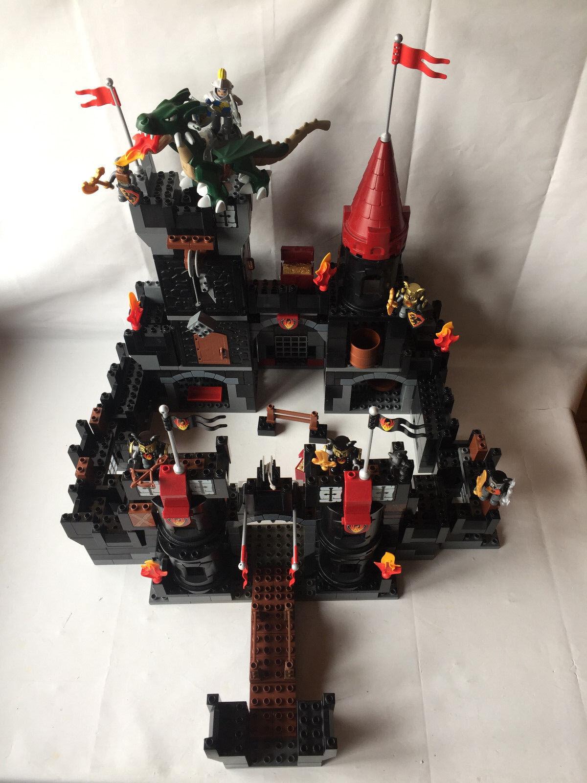 LEGO DUPLO noire Ritterburg-Knight 's Castle  Set 4785 + Dragon-Compl. + Inst.  tout en haute qualité et prix bas