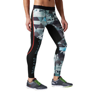 pour Series Pantalon Playdry hommes Reebok de Collants running Elite One ER8Ywq