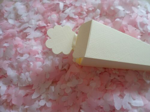 3000 Pink and White Mixed Heart.Wedding Confetti//Party//Decoration 8 Cones//Bio
