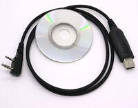 Usb Programming Cable For Baofeng Uv-5r Uv-3r+ Handheld Radio & Cd Software