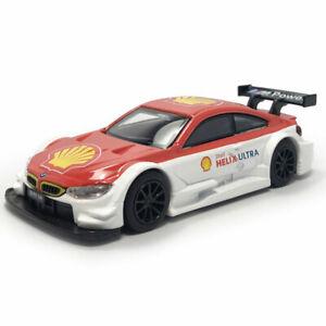 1:43 BMW M4 Motorsport DTM Racing Car Model Diecast Toy Vehicle Kids Pull Back