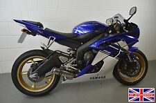 Yamaha YZF R6 (06-16) Polished Stainless Stubby Domed GP Low Slung SP Exhaust