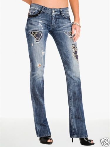248 NWT MARCIANO GUESS LIMITED EDITIONREBELLIOUS LUX démarrage CUT JEANS Taille 27 28