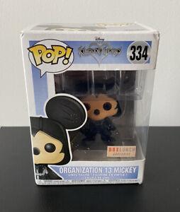 Funko Pop Disney Kingdom Hearts Organization 13 Mickey Mouse Unhooded SDCC 2018