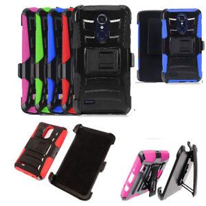 finest selection 8e4fd 0cf4b Phone Case for TracFone LG Rebel 3, Rebel 4 (Straight Talk) Holster ...