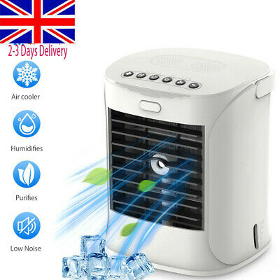 Portable Air Conditioner Humidifier Desktop Air Water