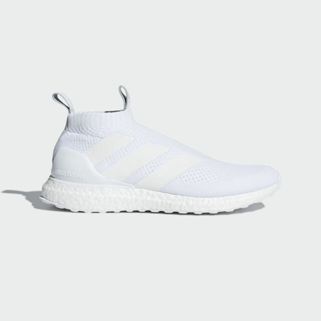 best website 59dfd 09379 adidas Ace 16+ Purecontrol Ultra boost Shoes Triple White AC7750 MULTIPLE  SIZES