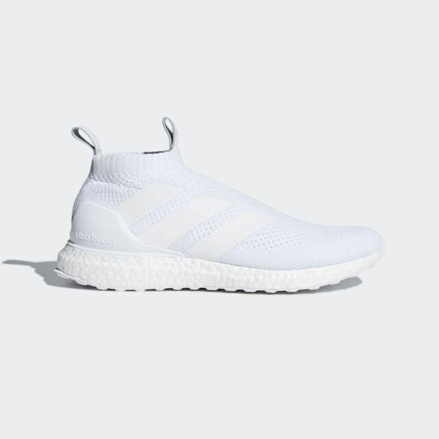 best website 18f97 9dcff adidas Ace 16+ Purecontrol Ultra boost Shoes Triple White AC7750 MULTIPLE  SIZES