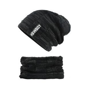 Bonnet-Pour-Hommes-Femmes-Echarpe-Caps-Balaclava