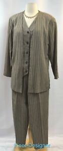 Blazer Giacca Vest Pc Giacca Carriera Mock Pant Linen Dunner Guaze 2 Alfred 12 Look gqzFnw
