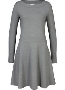 Punto Di Roma Kleid Gr 52 Grau Meliert Damen Minikleid Langarm Freizeitkleid Neu Ebay