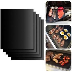 Reusable BBQ Grill Mat Bake Non Stick Grilling Mats Barbecue Pad Teflon Fiber