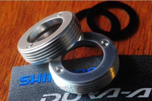 Shimano Dura Ace FC7710 Dust Caps FC-7710 Crank Bolt Track Keirin NJS 7700