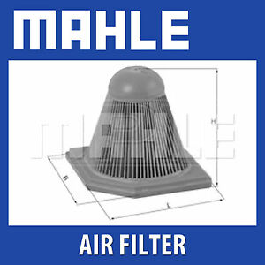 MAHLE Motorbike Air Filter LX578 for BMW Motorcycles Single LX 578