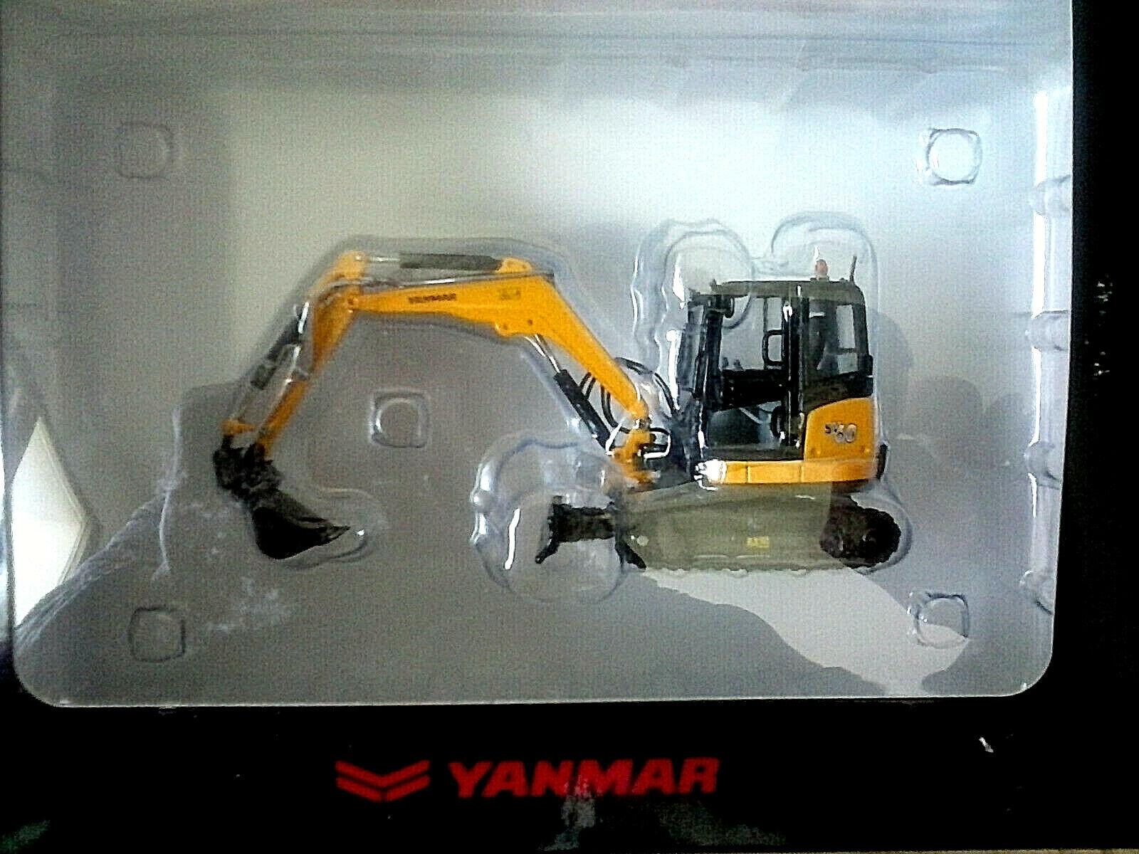 ROS 1 50 MODELLO IN METALLLO E PLASTICA ESCAVATORE YANMAR SV60    ART 002272