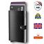 thumbnail 1 - WF Credit Card Holders with Gift Box Men Slim Wallet Pop Up Bifold RFID Blocking