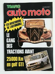 TRAFIC-AUTO-62-1980-LE-GANG-DES-TRACTIONS-AVANT-GOLF-GTI-HONDA-GOLD-WING