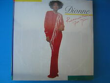 LP DIONNE WARWICK RESERVATION FOR TWO  1987 ITALY NUOVISSIMO CON TESTI