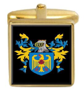Beckman England Familie Wappen Heraldik Manschettenknöpfe Schachtel Set Graviert Hohe QualitäT Und Preiswert