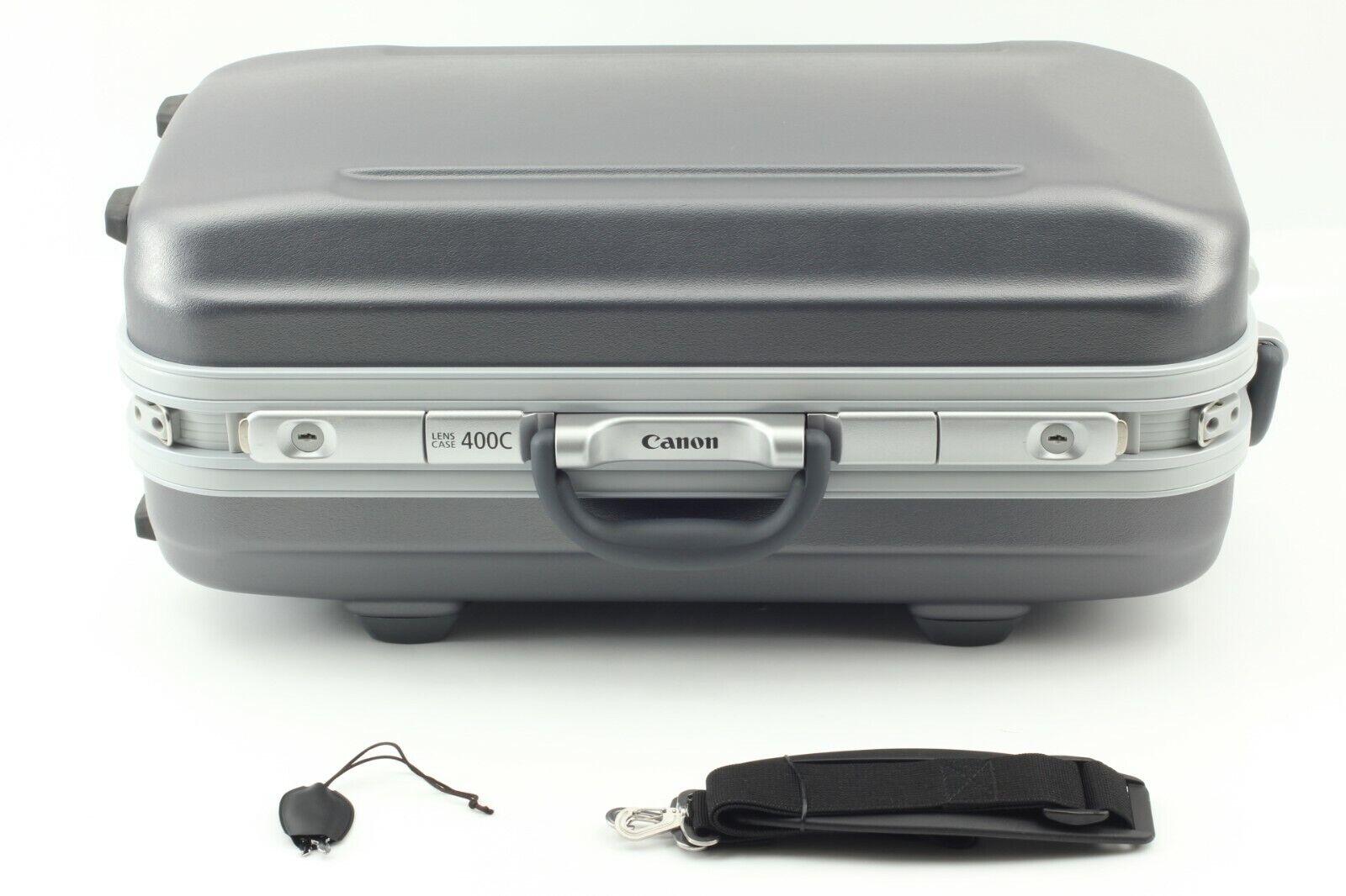 【MINT】Canon Lens Case 400C for EF 400mm F/2.8L IS II w/ Strap & Key from JAPAN