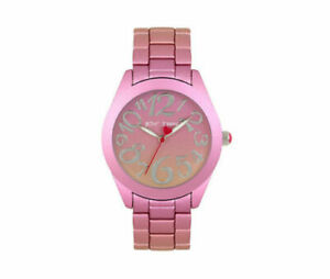 NWT-BETSEY-JOHNSON-BJ00706-02BX-RAINBOW-DREAMS-PINK-OMBRE-BRACELET-WATCH