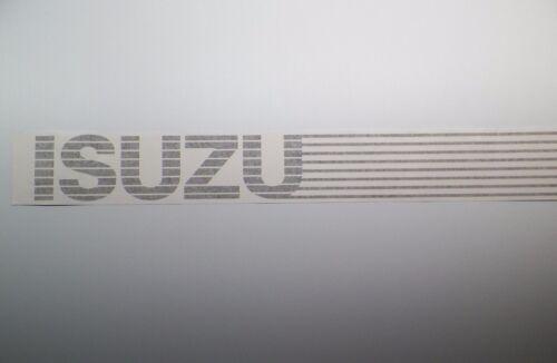 New 1985-1989 Isuzu Pup Truck OEM Rear Lower Tailgate Banner Decal