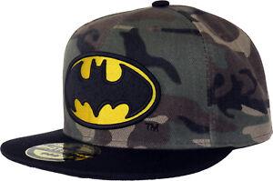 La imagen se está cargando Dc-Comics-Batman-Camo-Militar-Gorra-Snapback 30f1bf9ca3c