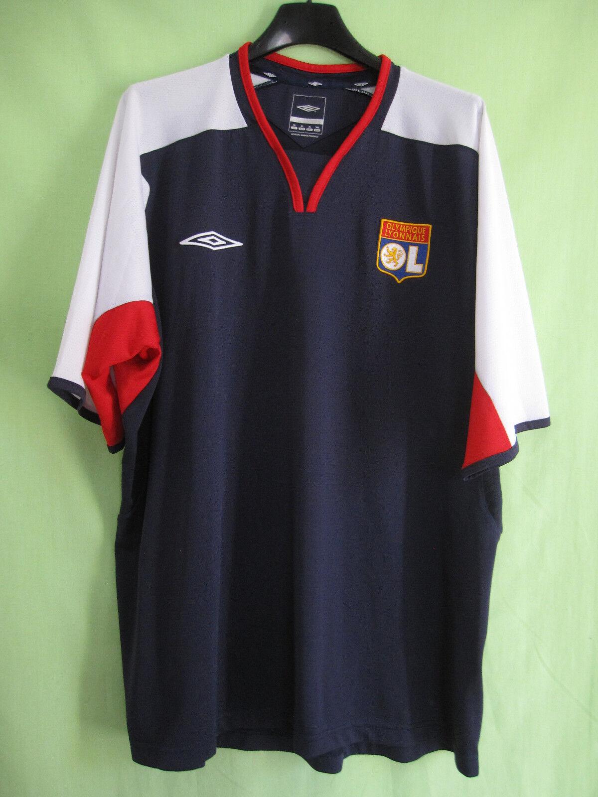 Maillot Olympique Lyonnais OL Lyon Entrainement Umbro vintage Shirt - XL