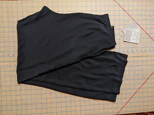 NEW Anne Klein Black Polyester Pants Womens 12 NWT Closet90*