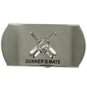 GENUINE-NAVY-ENLISTED-SPECIALTY-BELT-BUCKLE-GUNNER-039-S-MATE-GM