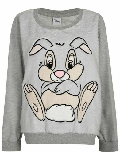 Walt Disney Thumper jumper sweatshirt pullover snuggly top new grey from bambi